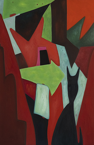 Abstract Composition 10